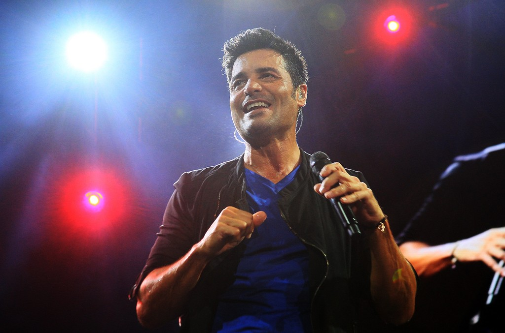 Chayanne performs in 2015