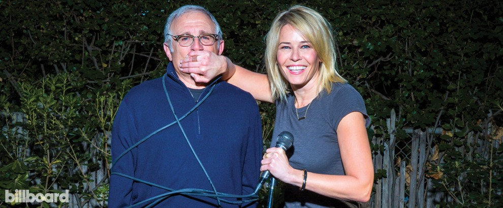 How Chelsea Handler Irving Azoff Became Comedy S Dynamic Duo Cover Story Billboard