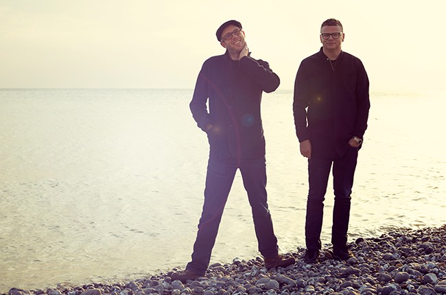The Chemical Brothers photographed in 2015.