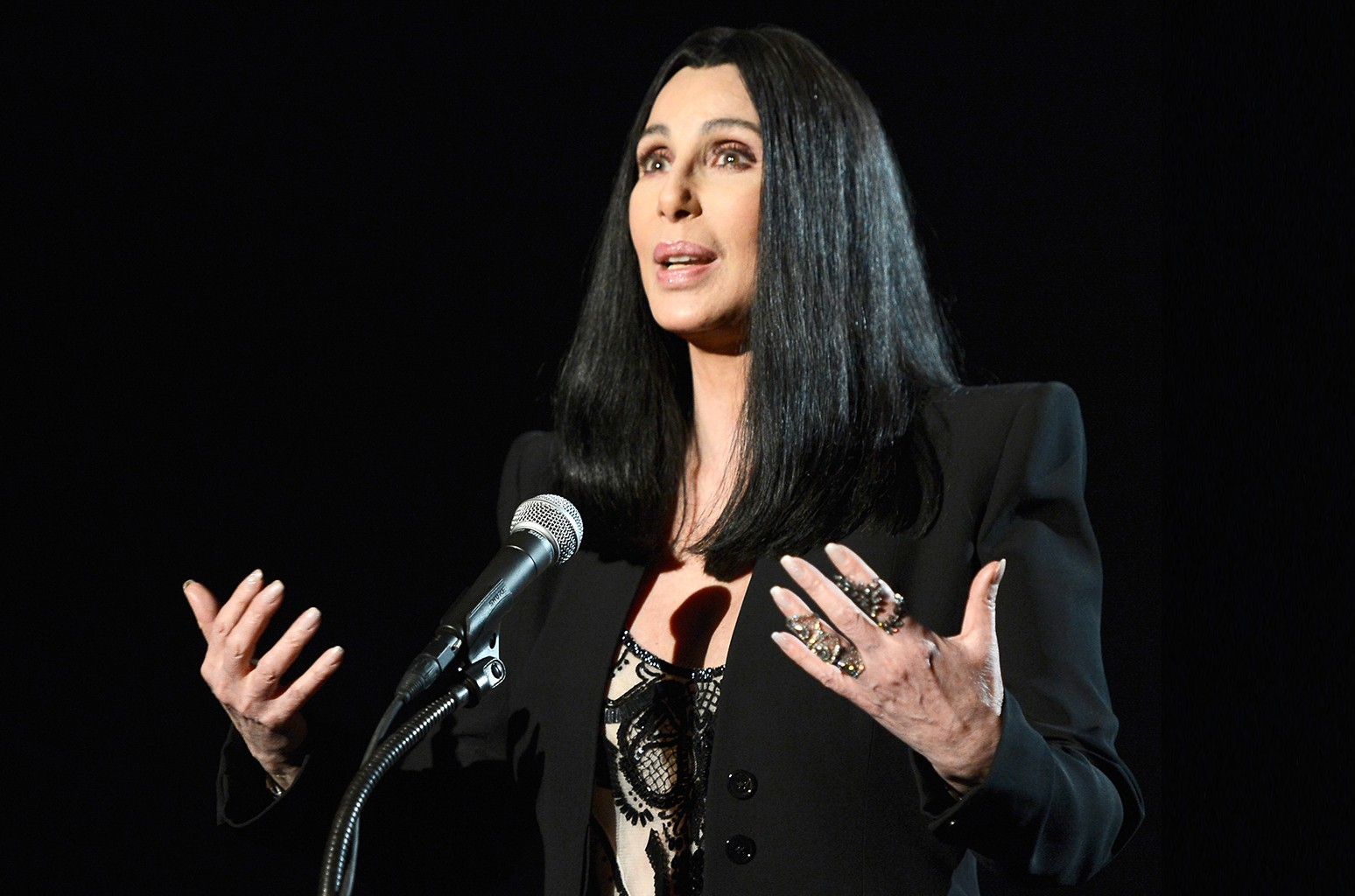 Cher photographed in 2013