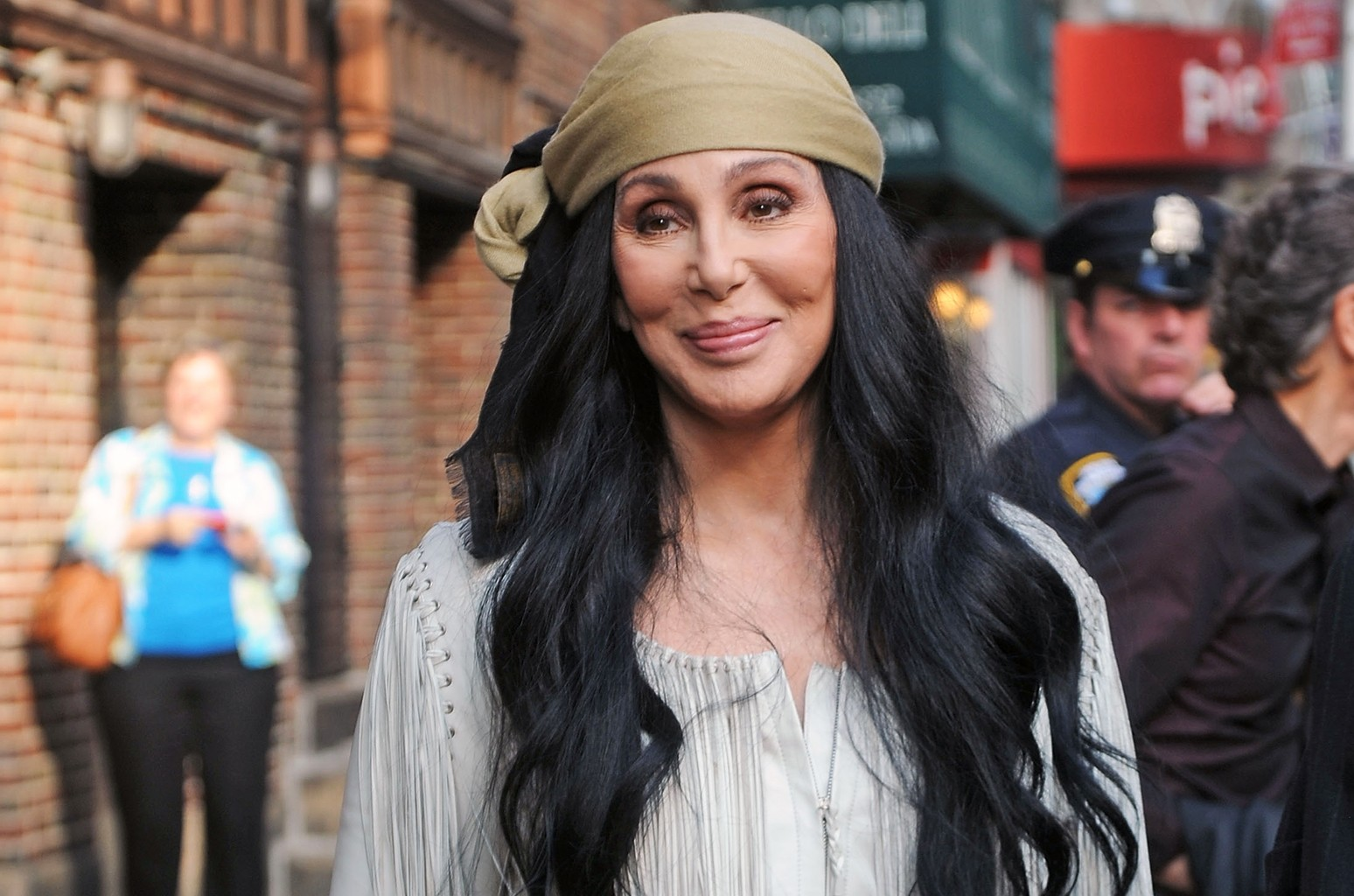 Cher photographed in 2015