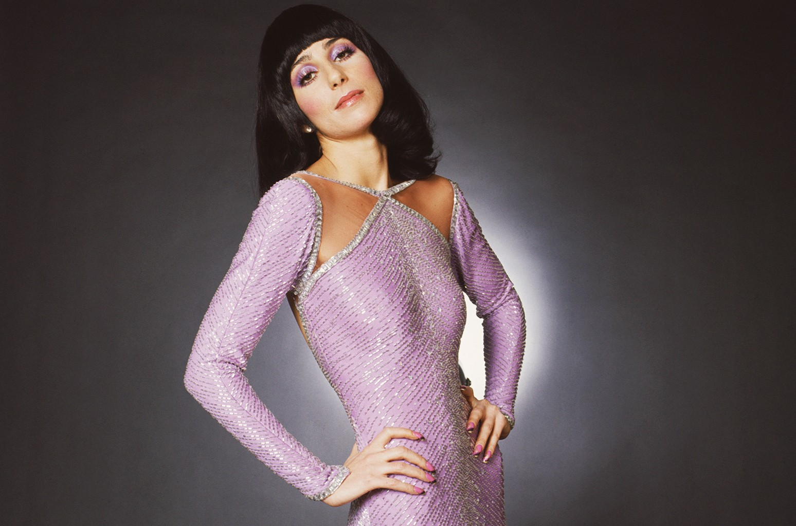 Cher photographed in 1972.