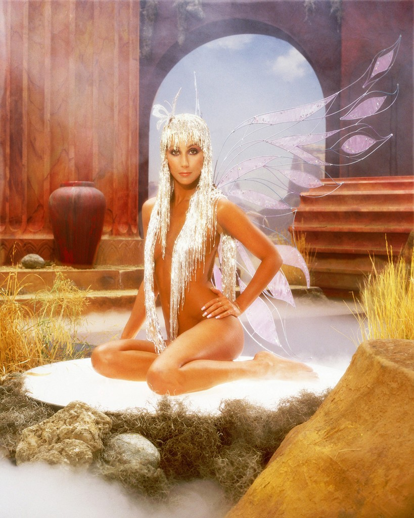 Cher poses for an Album Cover Session for 'The Prisoner' on Casablanca Records in June 1979 in Los Angeles.