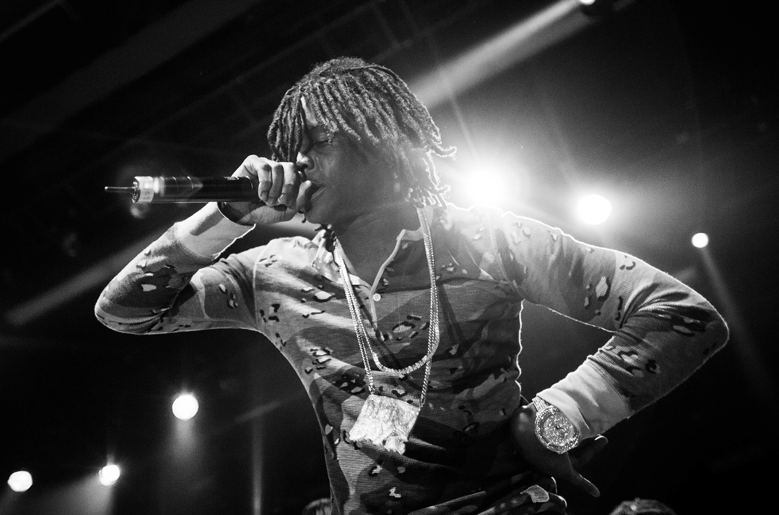 Chief Keef performs in New York City.