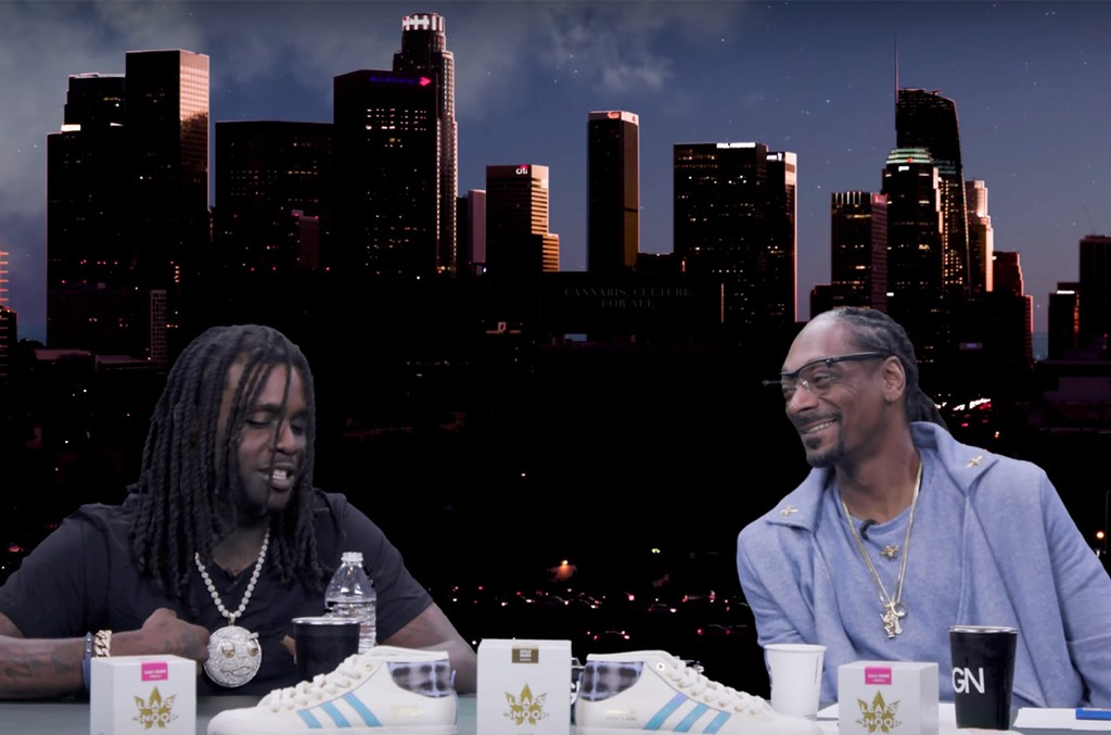 Chief Keef and Snoop Dogg
