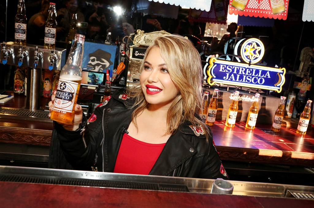 Chiquis Rivera joins Cerveza Estrella Jalisco to kick off a Cinco de Mayo partnership with Lyft on May 2, 2017 in Los Angeles.