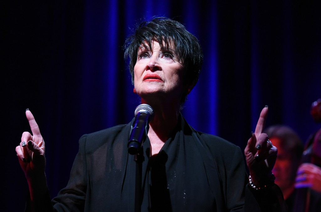 Chita Rivera performs at the Beverly Hilton Hotel on Aug. 2, 2015 in Beverly Hills, Calif.