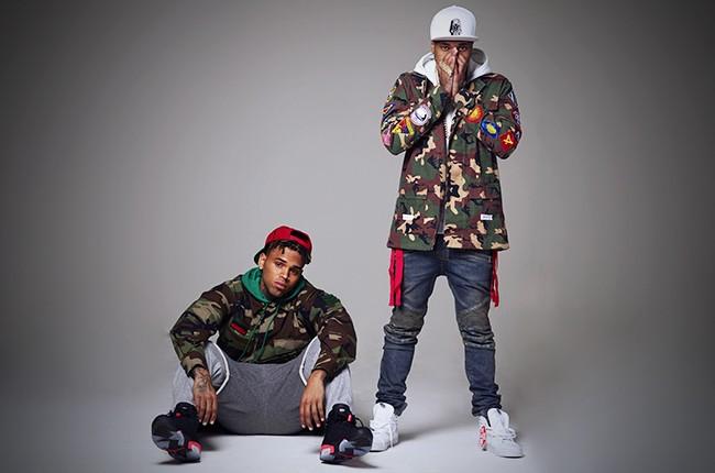 Chris Brown and Tyga