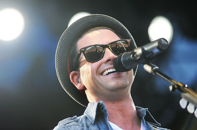 Chris Carrabba of Dashboard Confessional 2008