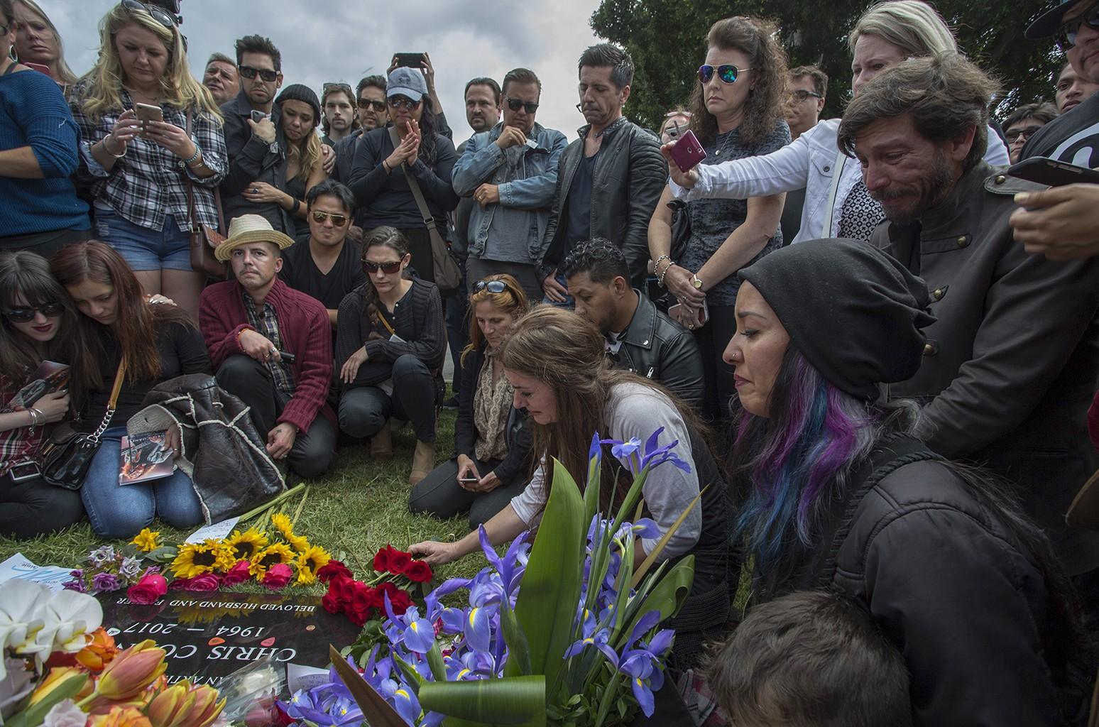Chris Cornell public memorial