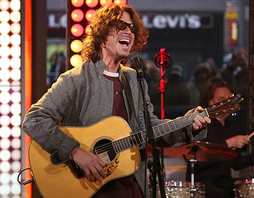 """Chris Cornell performs live on """"Good Morning America"""""""