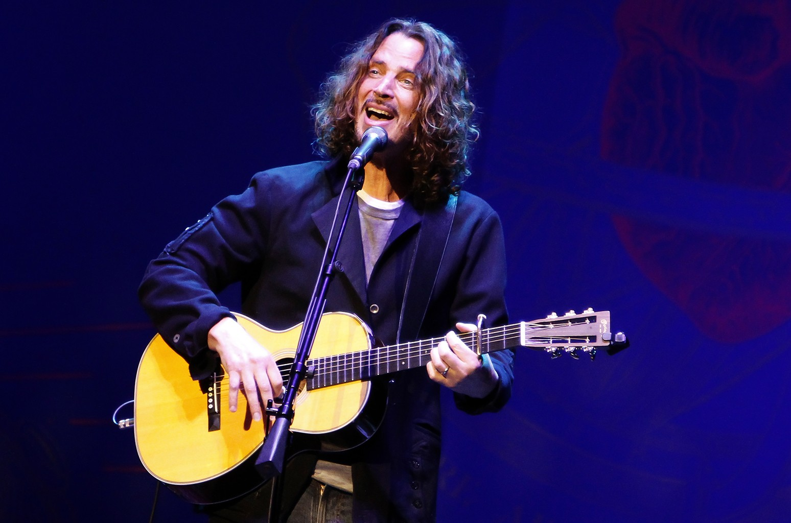 Chris Cornell performs at The Royal Opera House on May 3, 2016 in London.