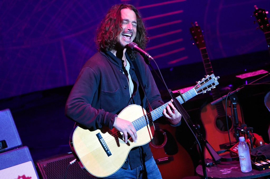 Chris Cornell performs at The Louisville Palace