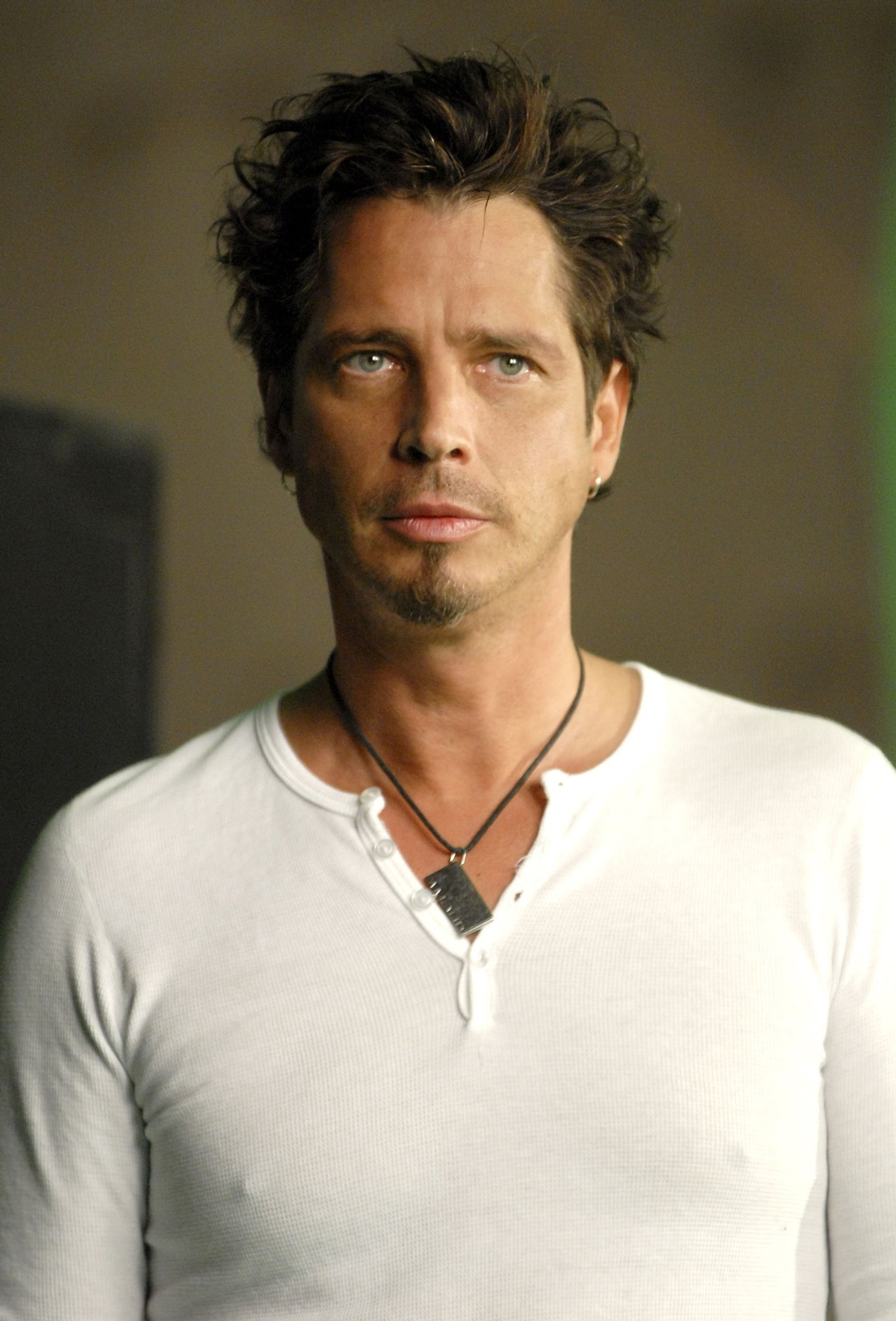 Chris Cornell of Audioslave during Chris Cornell of Audioslave Video Shoot - June 29, 2006 at Sunset Gower Studios in Los Angeles.