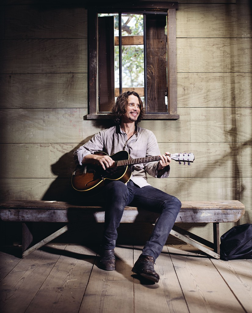 "Chris Cornell poses for a portrait to promote his latest album, ""Higher Truth,"" at The Paramount Ranch in Agoura Hills, Calif. on July 29, 2015."