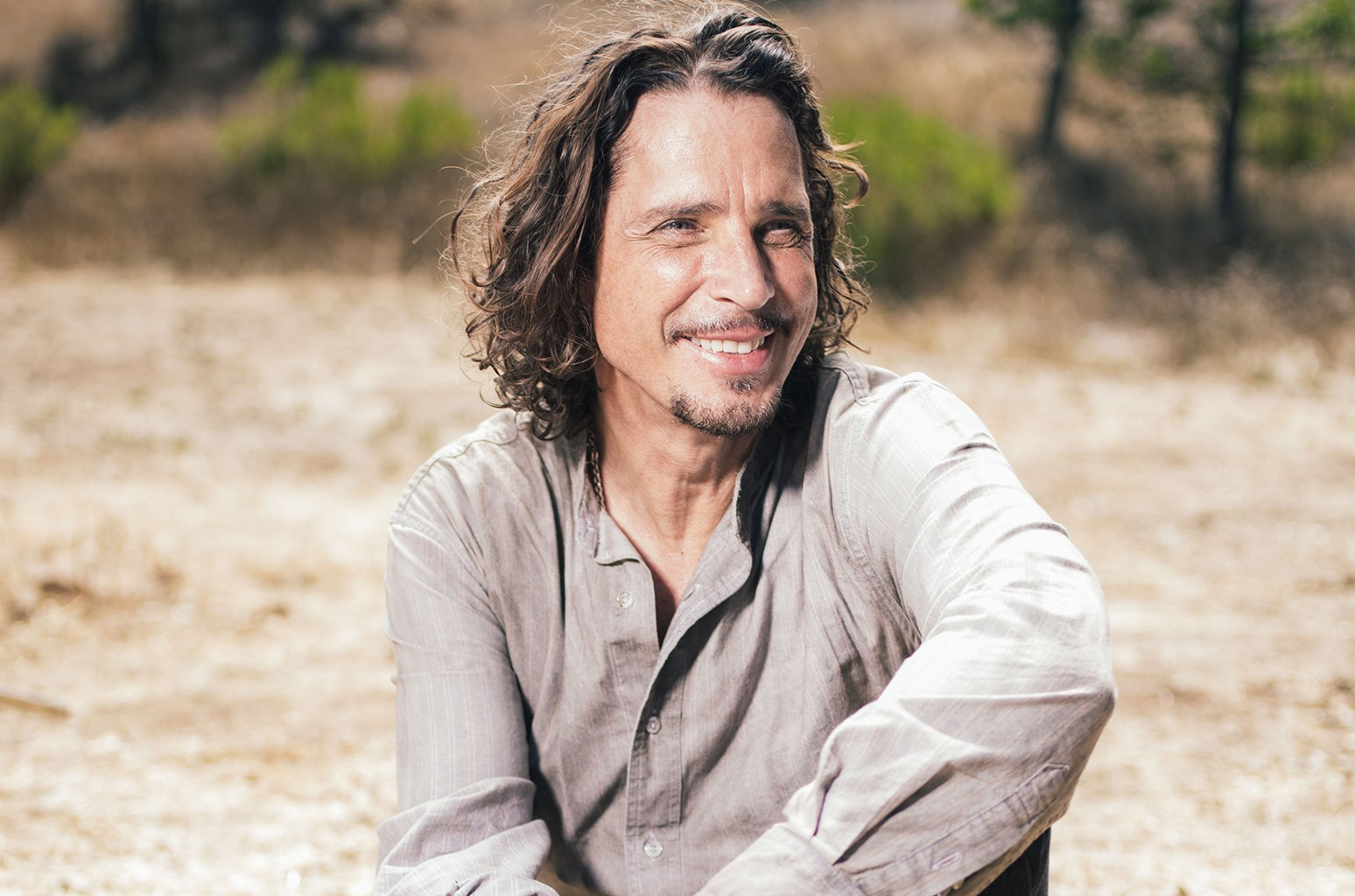 Chris Cornell poses for a portrait on July 29, 2015 at The Paramount Ranch in Agoura Hills, Calif.
