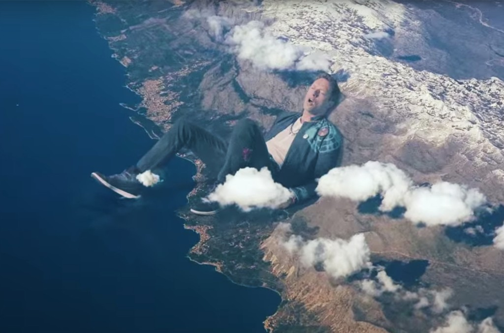 "Coldplay's video for ""Up&Up"""