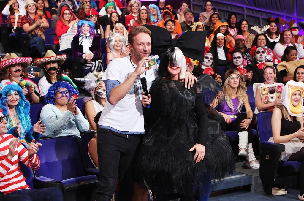 Chris Martin & Ellen DeGeneres
