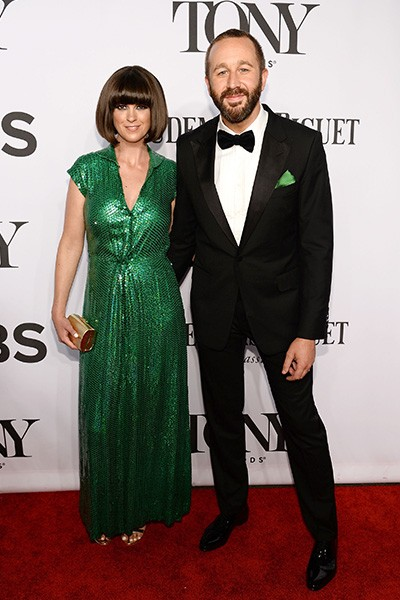 Dawn O'Porter and actor Chris O'Dowd attend the 68th Annual Tony Awards