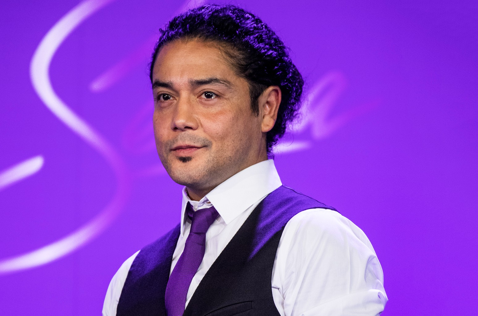 Chris Perez during a press conference before the MAC Selena World Premiere at American Bank Center on Sept. 29, 2016 in Corpus Christi, Texas.