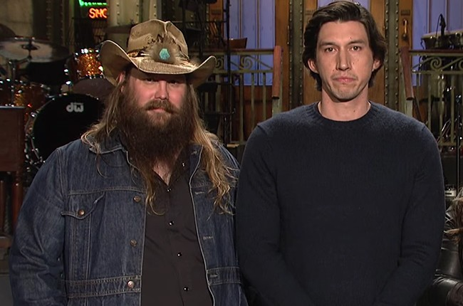 Chris Stapleton Adam Driver