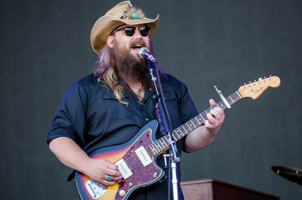 Chris Stapleton performs at Bonnaroo 2016