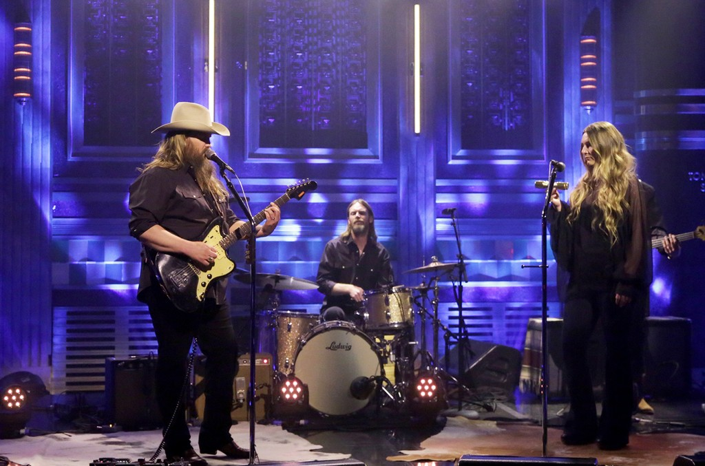 Chris Stapleton performs on The Tonight Show Starring Jimmy Fallon on May 8, 2017.