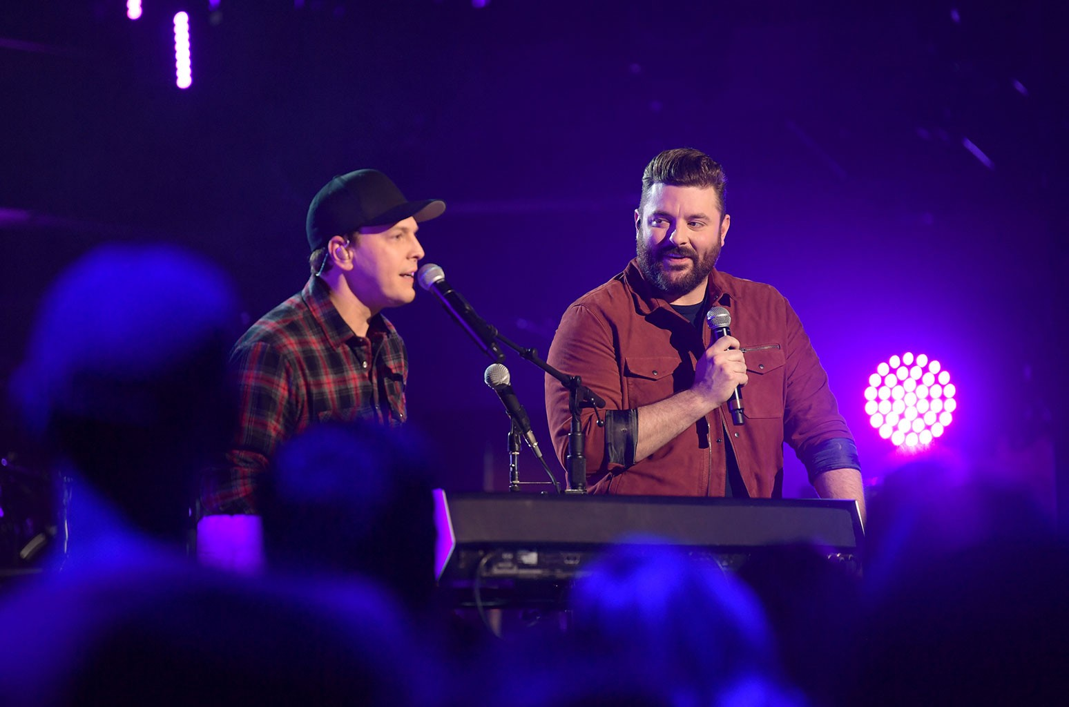 Gavin Degraw and Chris Young