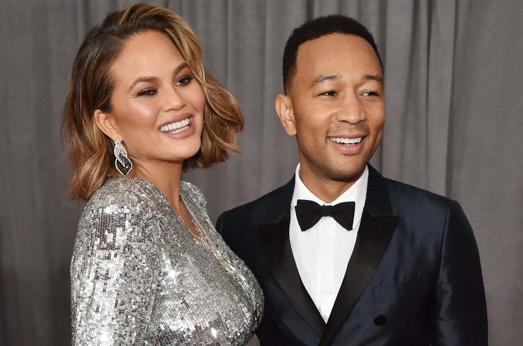 Chrissy Teigen & John Legend, 2018
