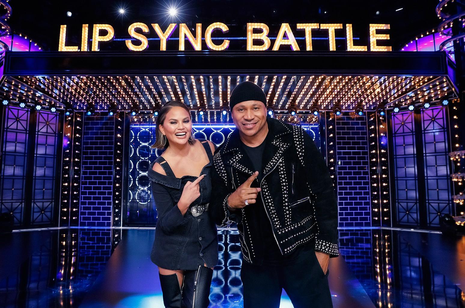 Chrissy Teigen & LL Cool J