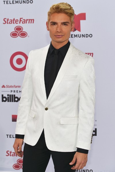Christian Acosta arrives at 2015 Billboard Latin Music Awards