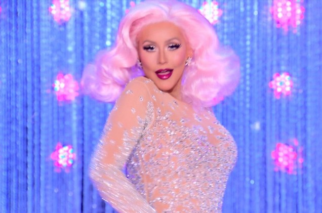 Christina Aguilera RuPaul's Drag Race