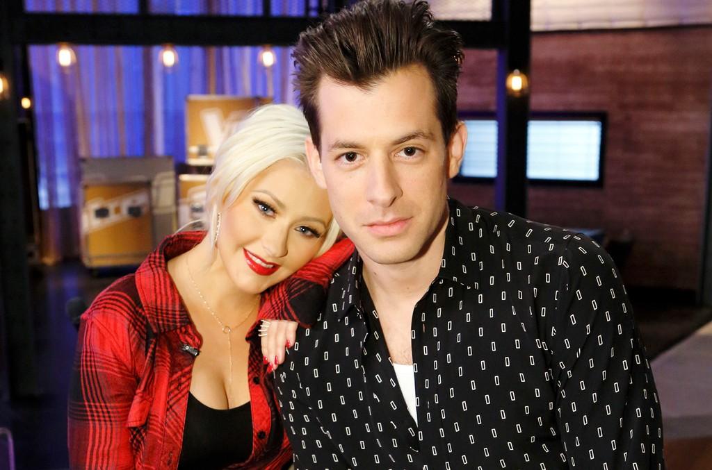 Christina Aguilera & Mark Ronson