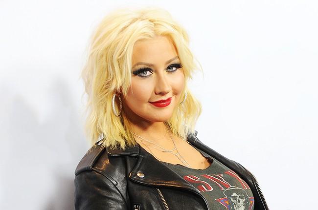 "Christina Aguilera arrives at NBC's ""The Voice"" Season 8 red carpet"