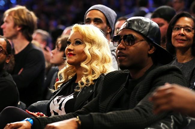 Christina Aguilera and Nas