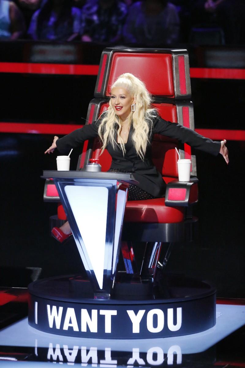 Christina Aguilera the voice 2016