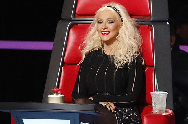 Christina Aguilera The Voice 2015