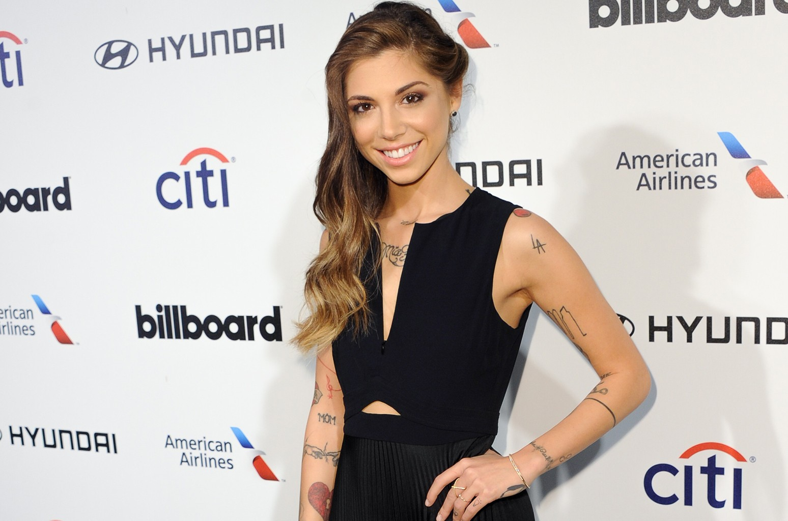 Christina Perri attends the 2015 Billboard Power 100 Celebration at Bouchon on Feb. 5, 2015 in Beverly Hills, Calif.