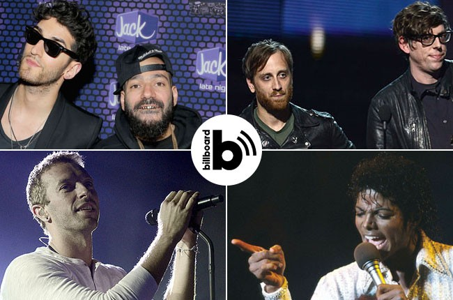 Chromeo, Black Keys, Michael Jackson, Chris Martin
