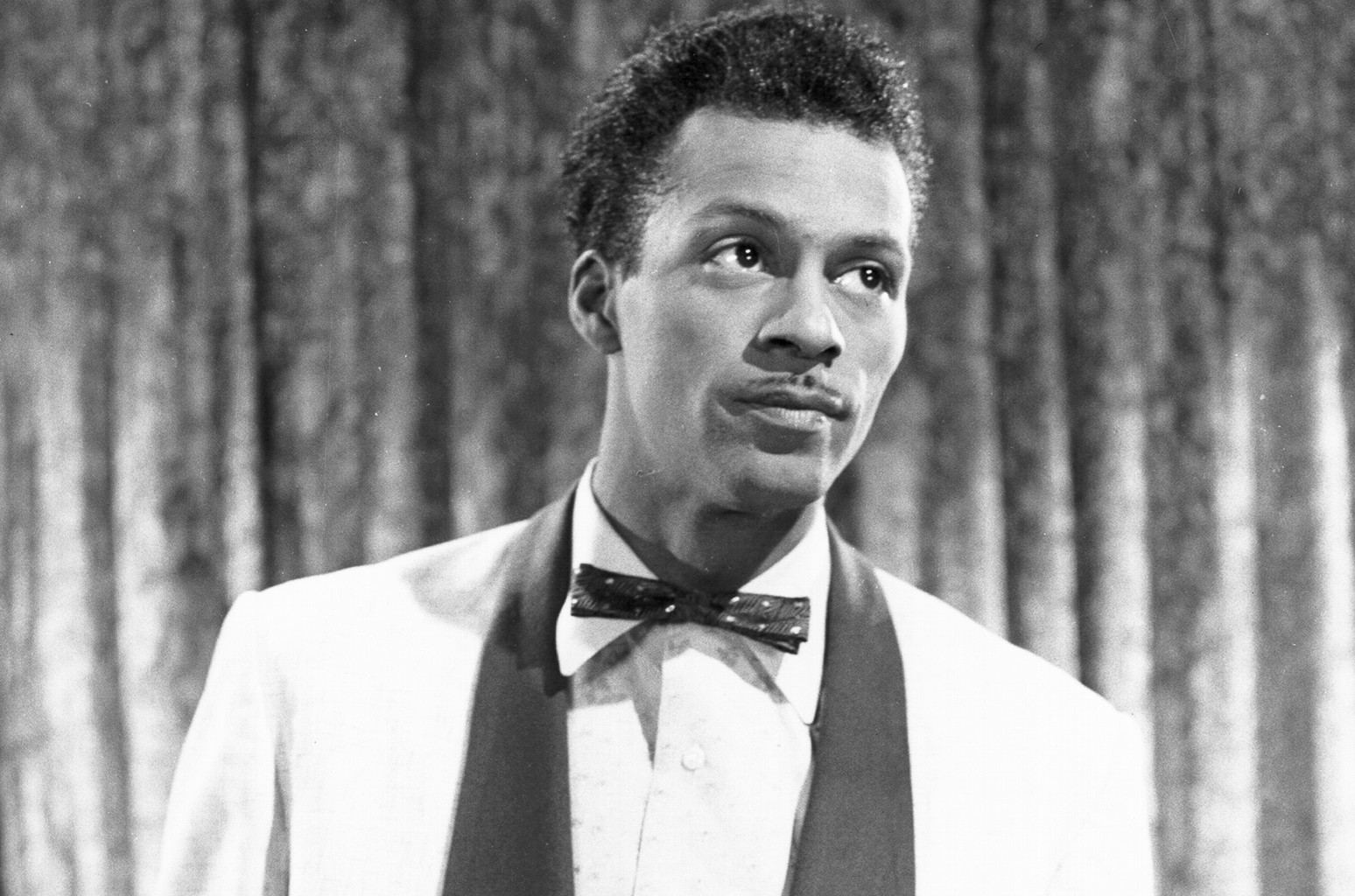 Chuck Berry performs circa 1957.