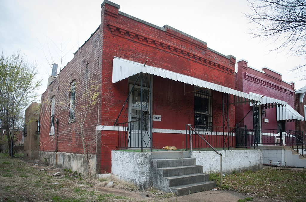 The Chuck Berry House at 3137 Whittier Street in St. Louis.