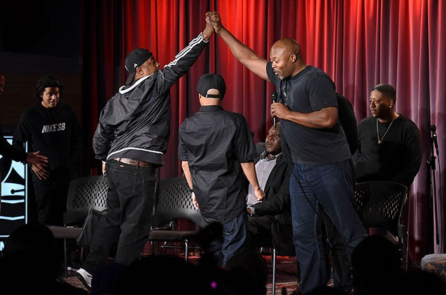 Chuck D and Cheo Coker