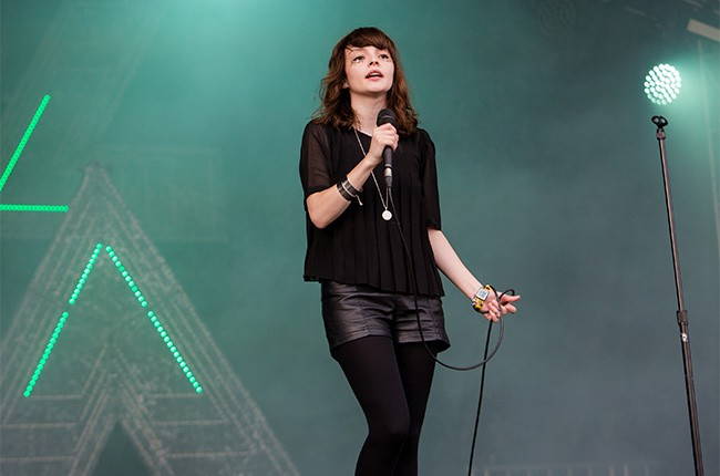 CHVRCHES perform at Lollapalooza 2014