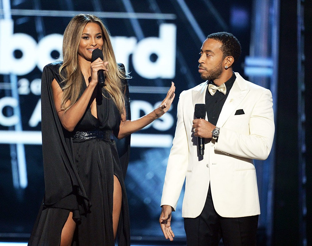 Ciara and Ludacris  at the 2016 Billboard Music Awards