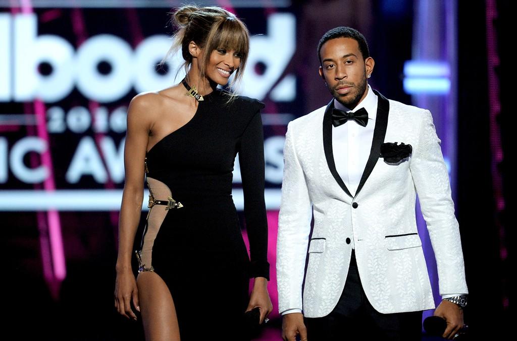 Ciara and Ludacris