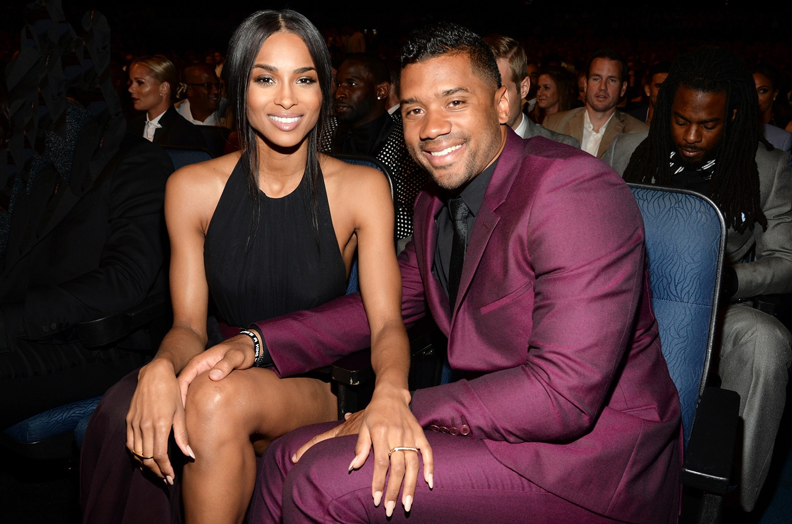 Ciara and Russell Wilson in 2015