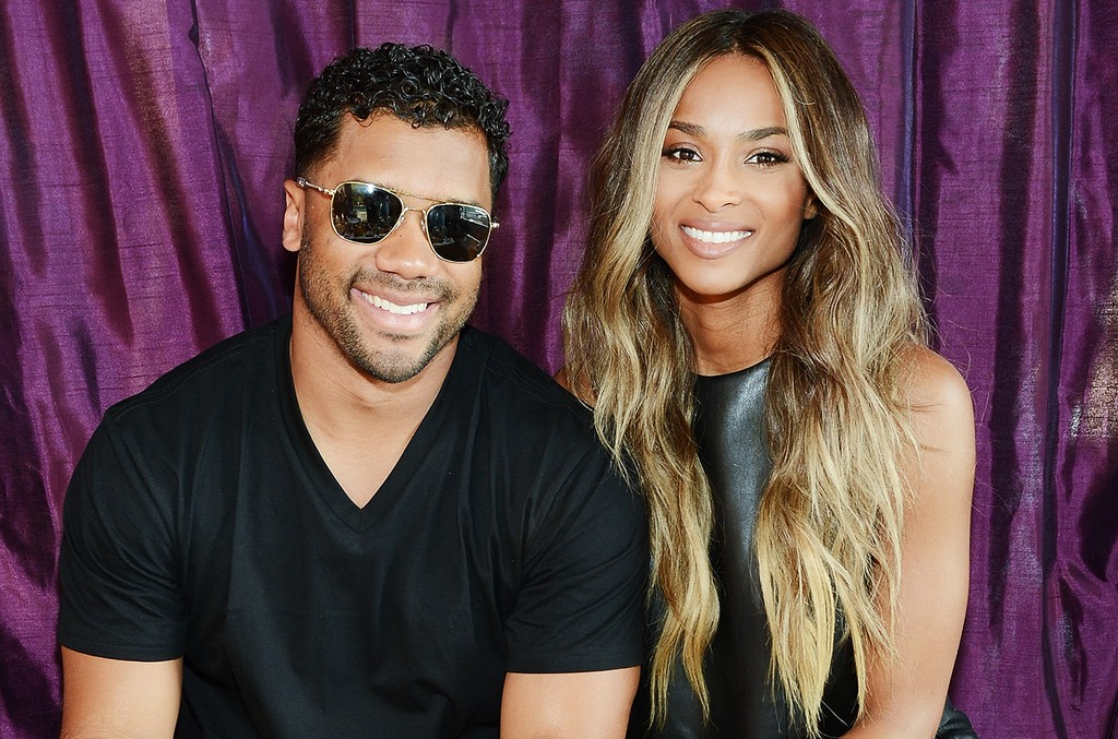 Russell Wilson and Ciara in Las Vegas