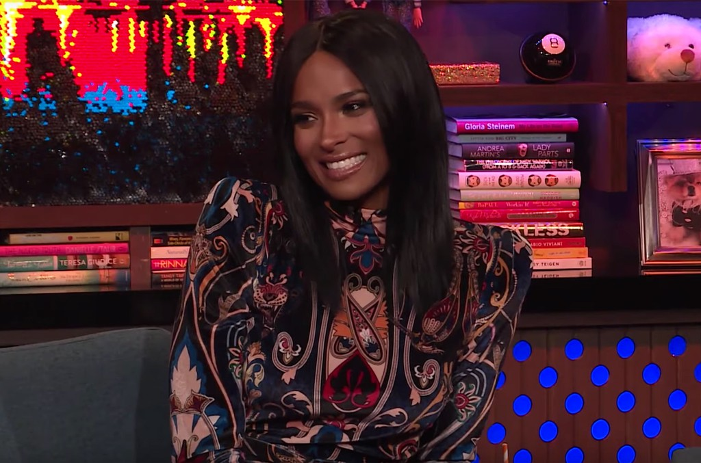 Ciara Watch What Happens Live with Andy Cohen