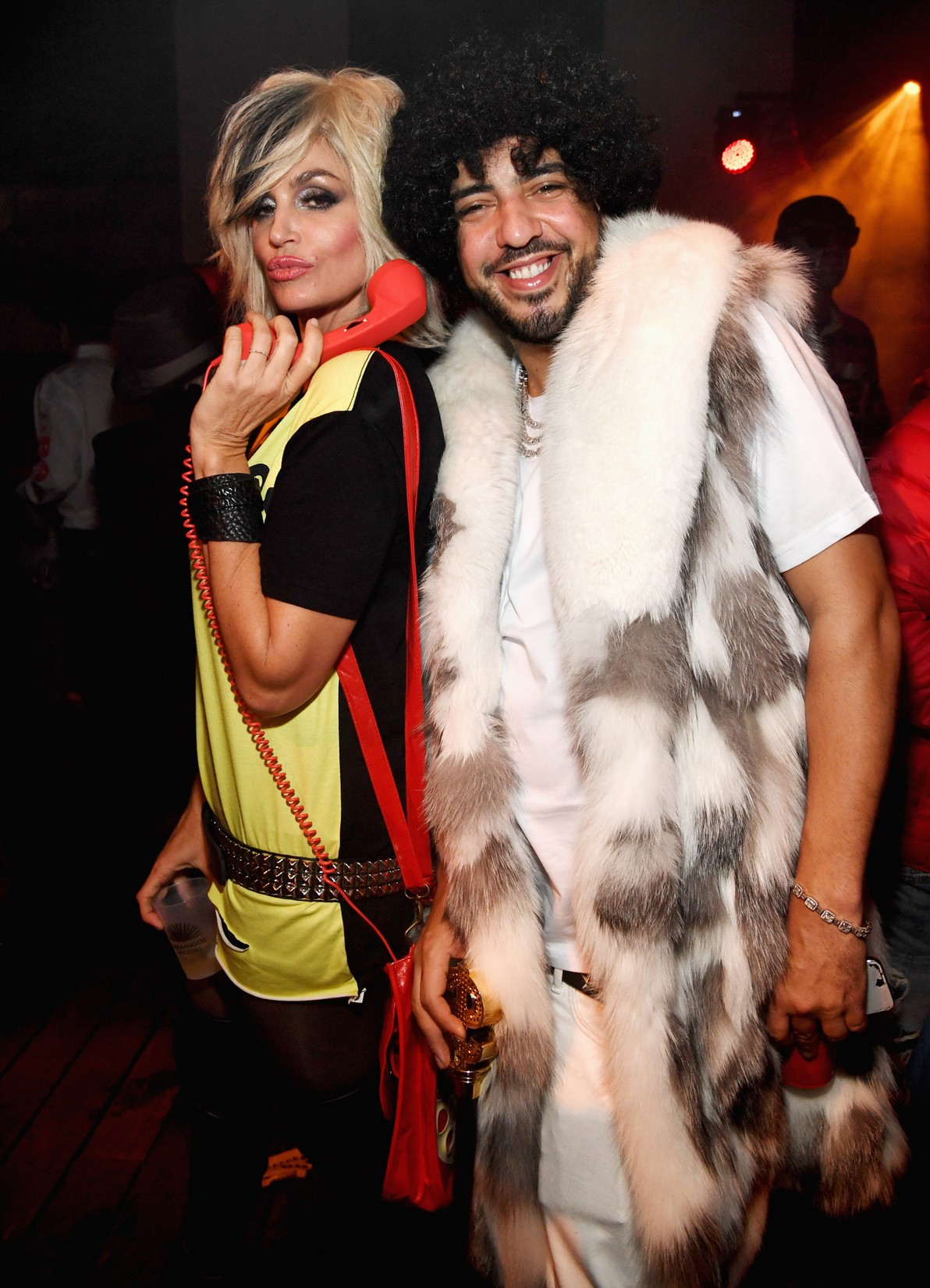 Cindy Crawford and French Montana