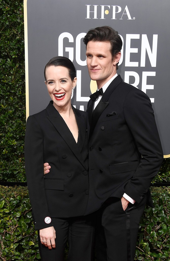 Claire Foy & Matt Smith, 2018
